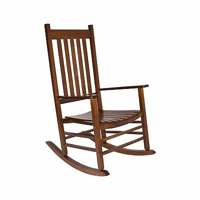 Shine Company 4332OA Vermont Porch Rocker - Oak NEW