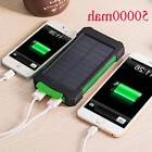 50000mah Dual-USB Waterproof Solar Power Bank Battery Charge