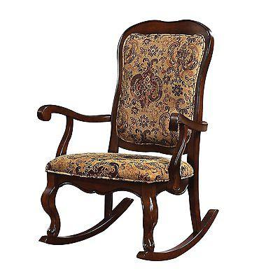 Acme Furniture 59390 Sharan Rocking Chair,Upholstered Seat a