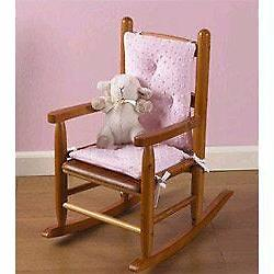 Babydoll Bedding Heavenly Soft Childs Rocking Chair Cushion,