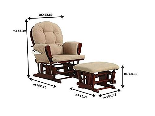 Coaster Traditional Upholstered Glider Matching