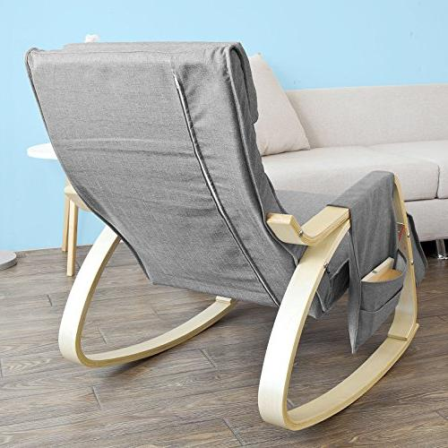 Haotian Comfortable Chair, with Side Pocket