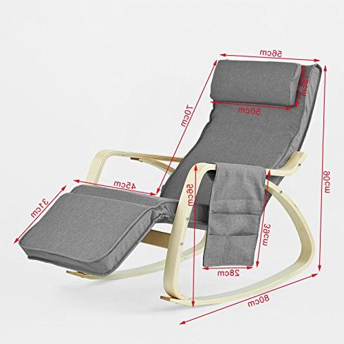 Haotian Rocking Chair, Recliners & Side Pocket