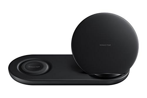 Samsung Wireless Charger Duo, Fast Charge Stand & Pad, Unive