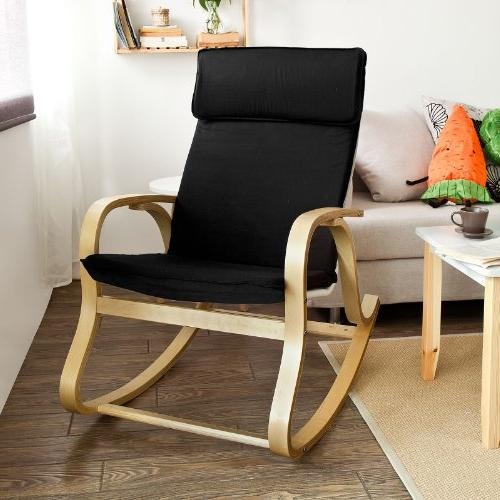 SoBuy Chair,Gliders,Lounge with Cushion,