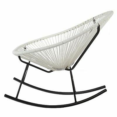 Acapulco White Indoor/ Rocking Chair