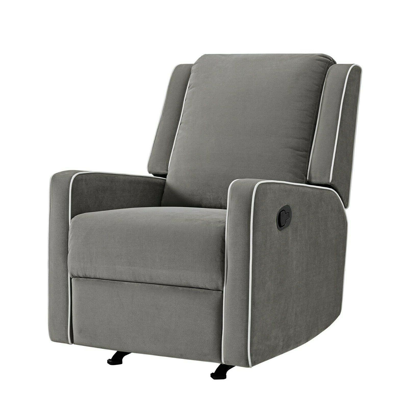 Baby Relax Robyn Contemporary  Smooth Rocking Recliner Chair