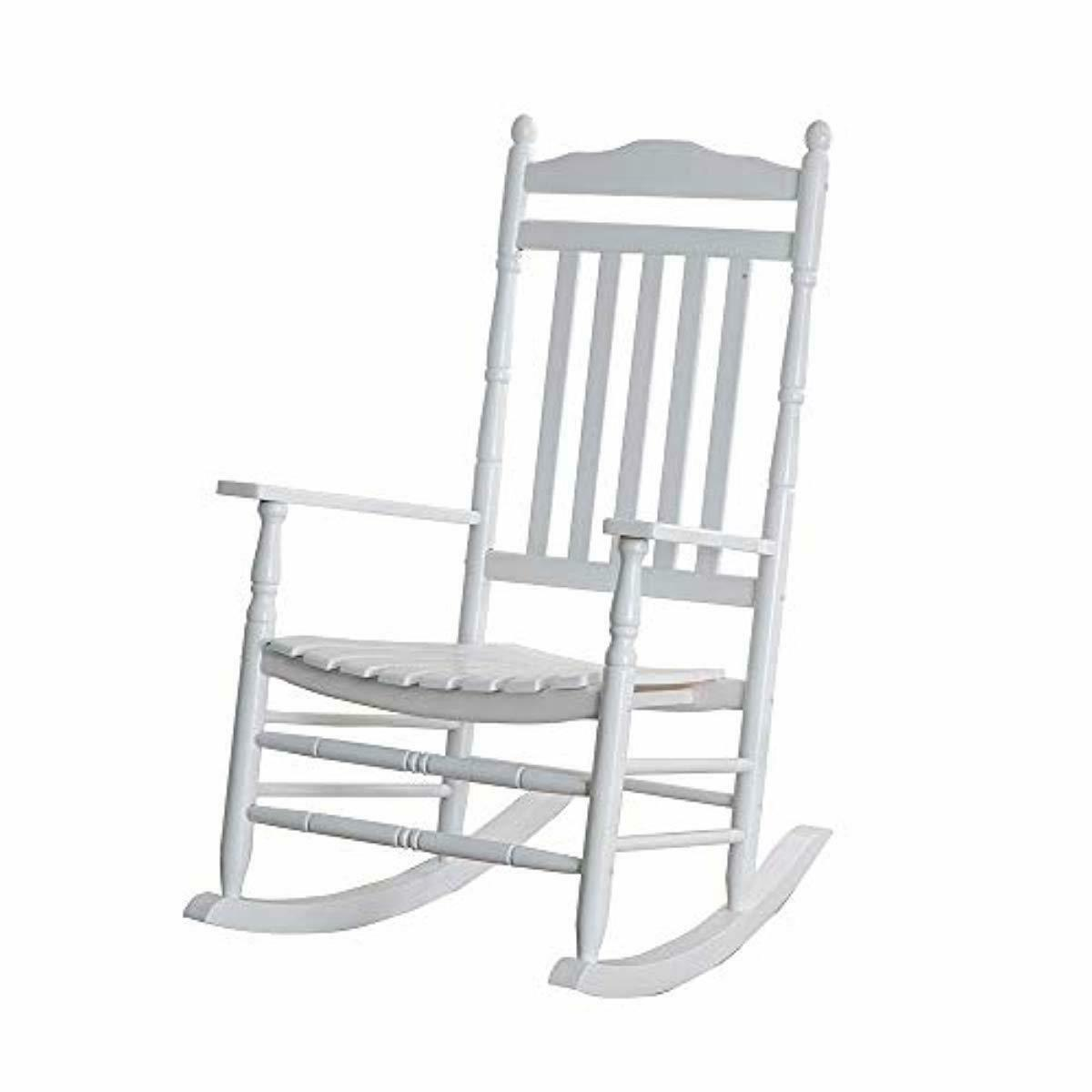 B&Z KD-22W Wooden chair Porch White Outdoor Traditional
