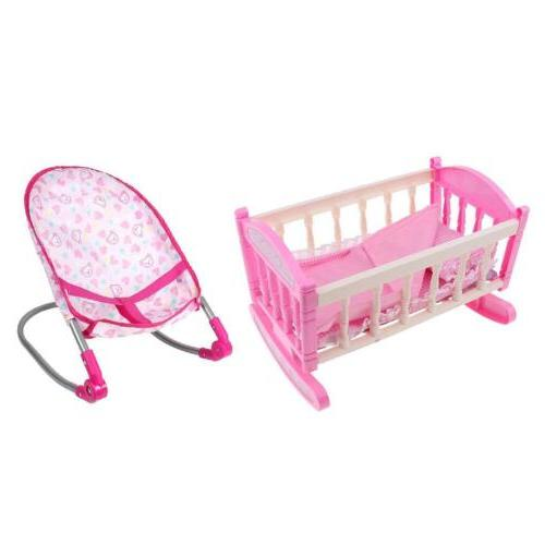 Baby Rocking Chair Cradle ABS Furniture Rooms