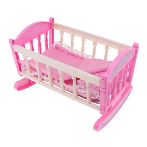 Baby Rocking Cradle Bed ABS Rooms