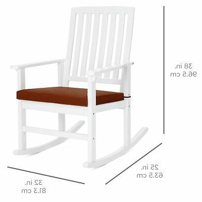 BCP Rocking Chair for Cushion, Back