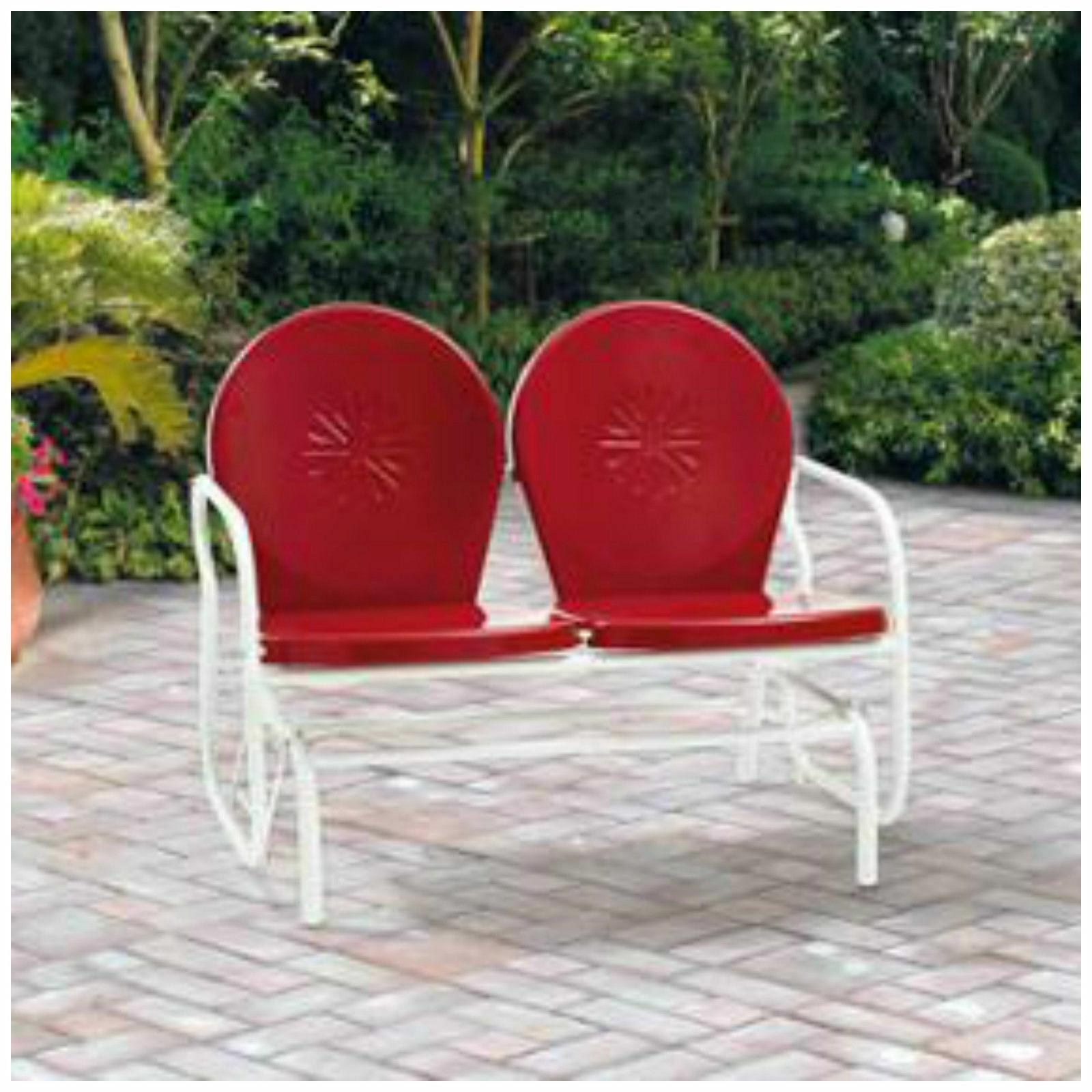 Outdoor Bench Glider Swing Seat Patio Garden Furniture Porch
