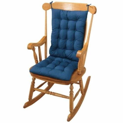 best two piece rocker rocking chair cushions
