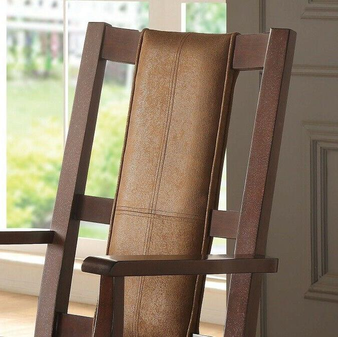 Butsea Living Room Rocking Chair Padded Seat