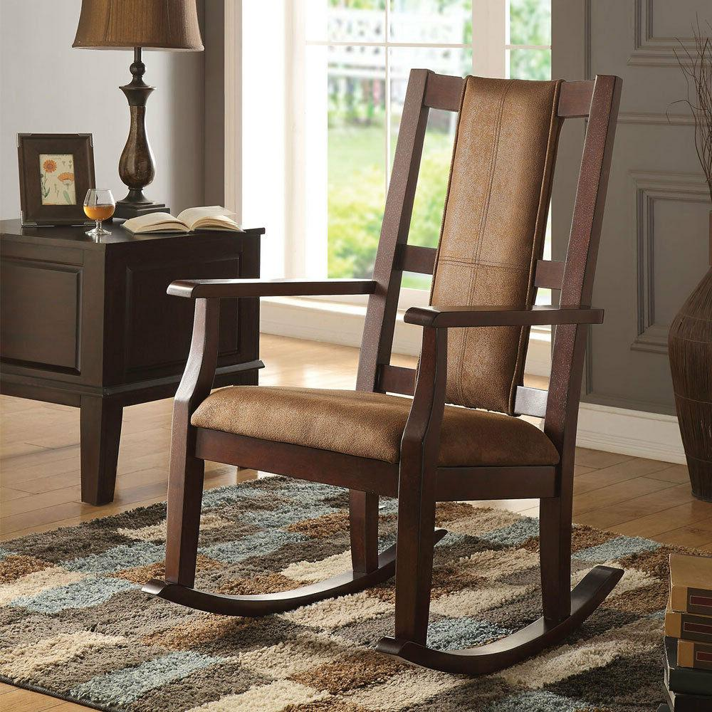 butsea living room accent rocking chair w