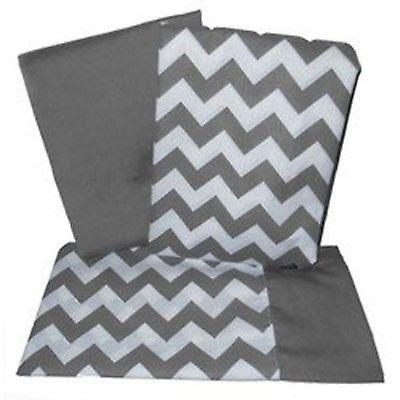 Chevron Rocking Chair Cushion - Color: Grey