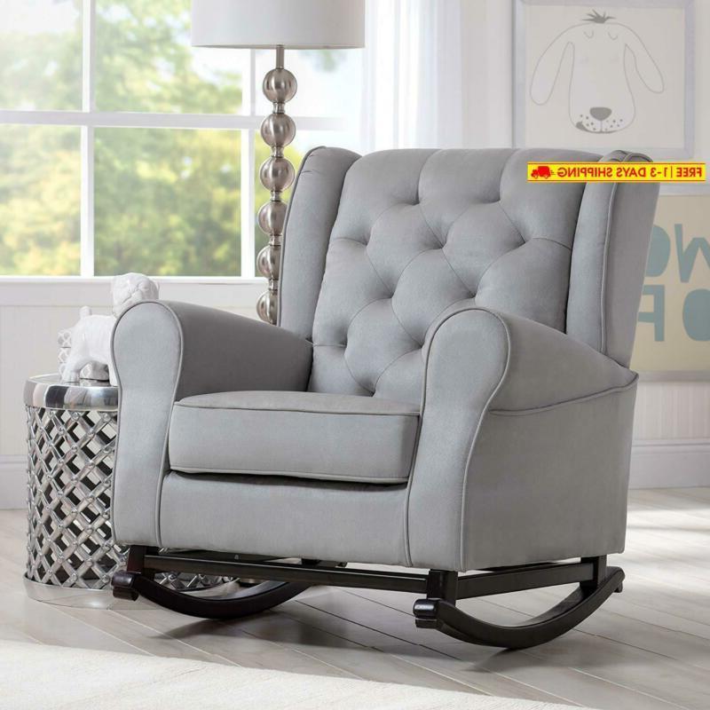 Delta Upholstered Rocking Chair,