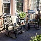 dixie seating linville indoor outdoor spindle rocking