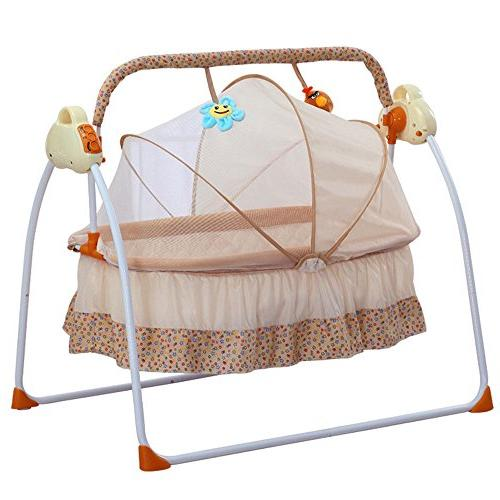 electric baby bassinet swing