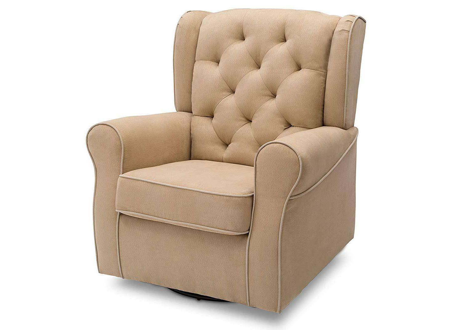 Delta Glider Rocker Chair, Dove Grey