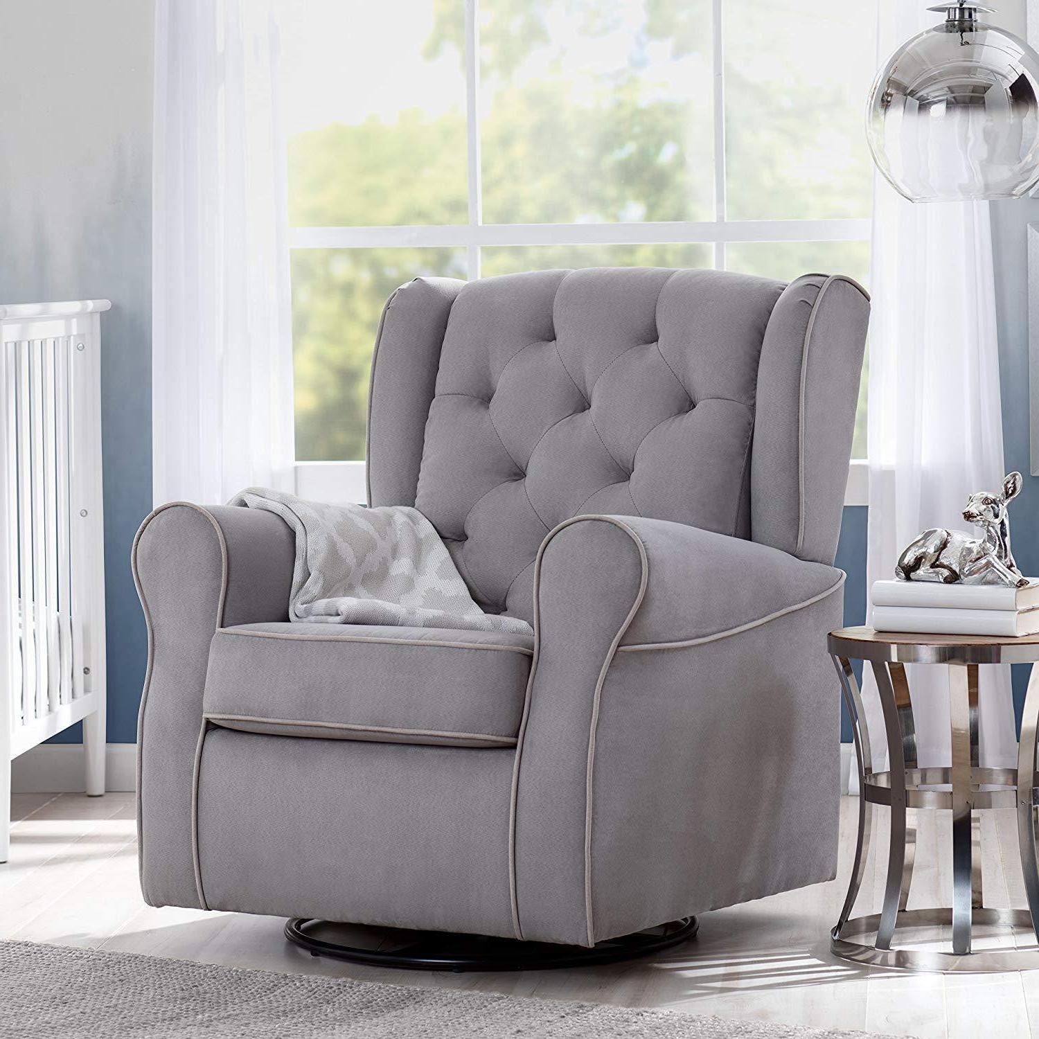 Delta Emerson Upholstered Dove Grey