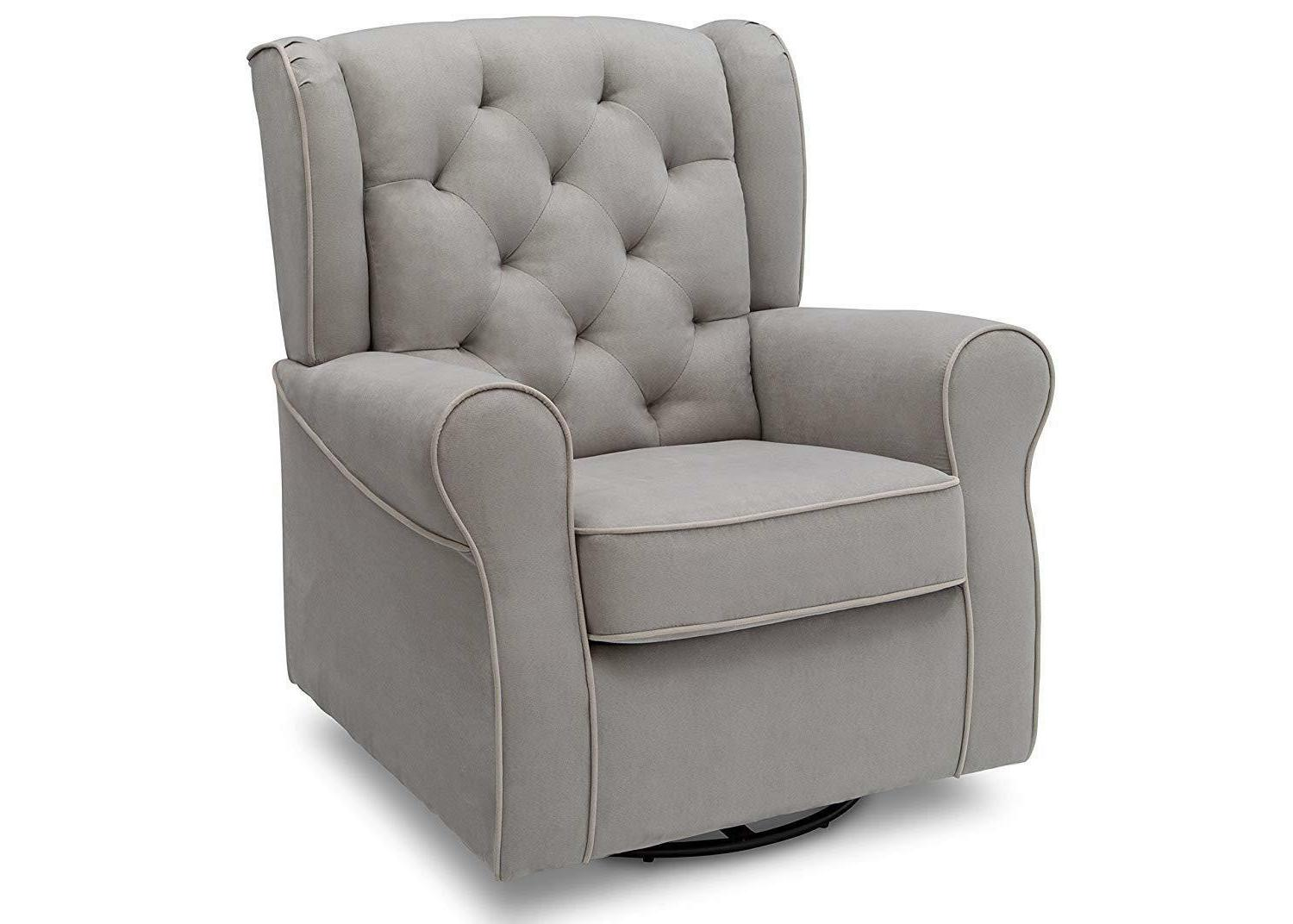 Delta Children Emerson Glider Dove Grey