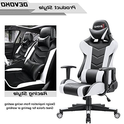 Devoko Gaming Chair High-Back PC Computer with and Support Executive