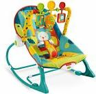 Fisher Price baby Infant To Toddler Rocker Dark Safari Sleep