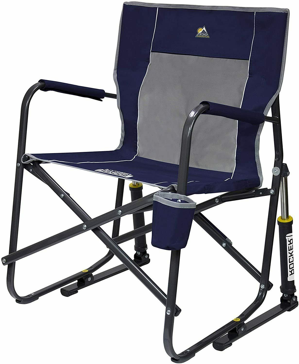 Portable Folding Rocking Chair lightweight Freestyle camping