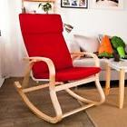 Haotian FST15-R, Comfortable Relax Rocking Chair, Lounge Cha