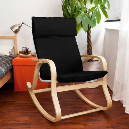 SoBuy Relaxing Chair,Gliders,Lounge Chair Cushion, FST15-SCH