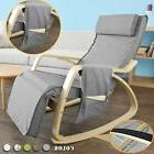Haotian FST18-DG, Comfortable Relax Rocking Chair, Lounge Ch
