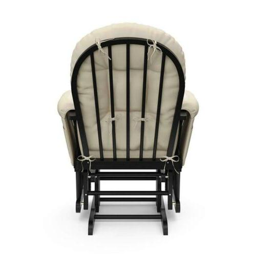 Glider Chair Black Boy Gift Furniture New
