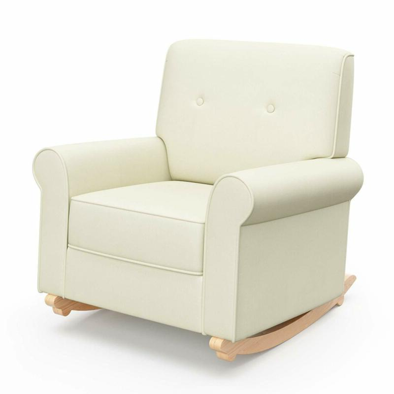 graco harper tufted rocker oatmeal cleanable upholstered