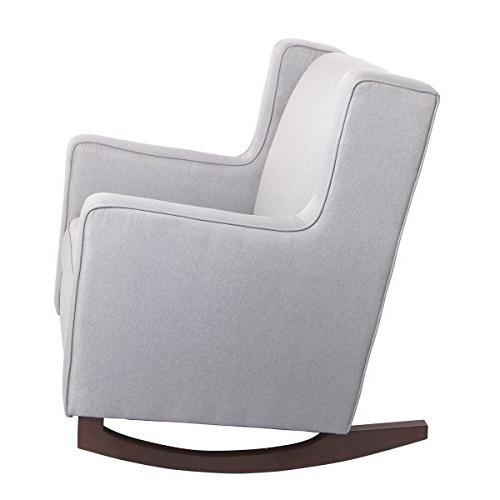Esright Fabric Morden Rocking Chair