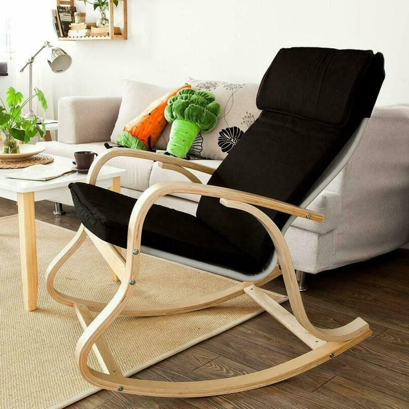Haotian Comfortable Rocking Chair, Lounge Relax