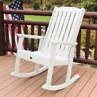 highwood lehigh recycled plastic rocking chair