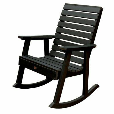 highwood weatherly recycled plastic rocking chair