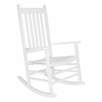 inc 4332wt vermont porch rocker white white