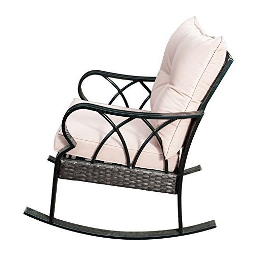 indoor aluminum rocking chair cushion