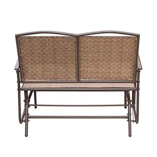 SunLife 2 Person, Loveseat Rocking with Seatback