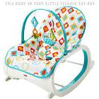 Infant to Toddler Rocking Chair by Fisher Price I Baby Seat
