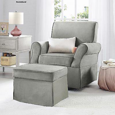 Kelcie Swivel Glider and Ottoman Set,