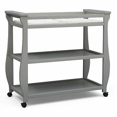 lancaster changing table grey