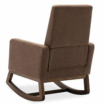 Living Padded Seat High Back Armchair