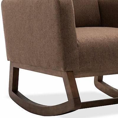Seat Upholstered Fabric High Back