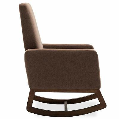Living Room Seat Upholstered Fabric Back