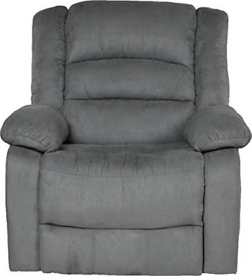 Relaxzen Recliner with and USB, Gray