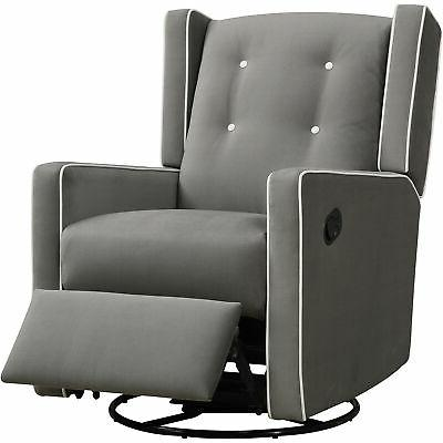 mikayla swivel gliding recliner choose your color