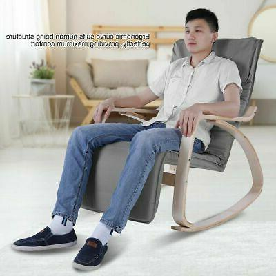 Modern Home Office Comfortable Rocking Lounge Adjustable Relax Chair